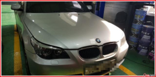 BMW_E60_520i_발전기교환_입고모습(모자이크).jpg